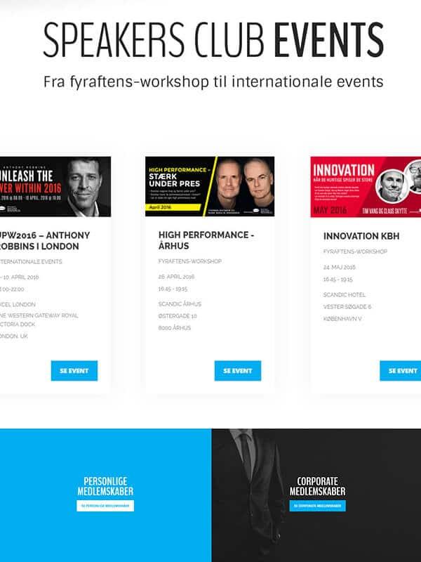 Cosmos & Co. » Online Markedsføring & Webudvikling: 360° Digitalt Bureau speakers club hero
